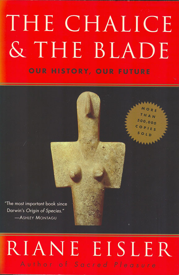 The Chalice & the Blade front cover.