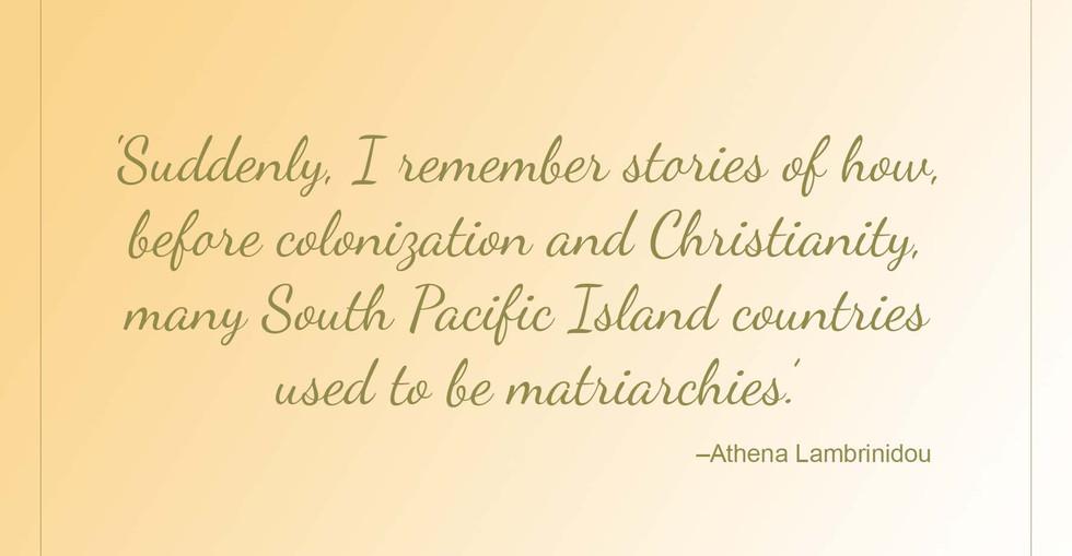 The Sisters Quote - Athena Lambrinidou 2.j