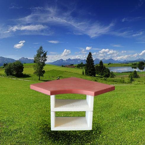 Барбекю Афина угловой столик