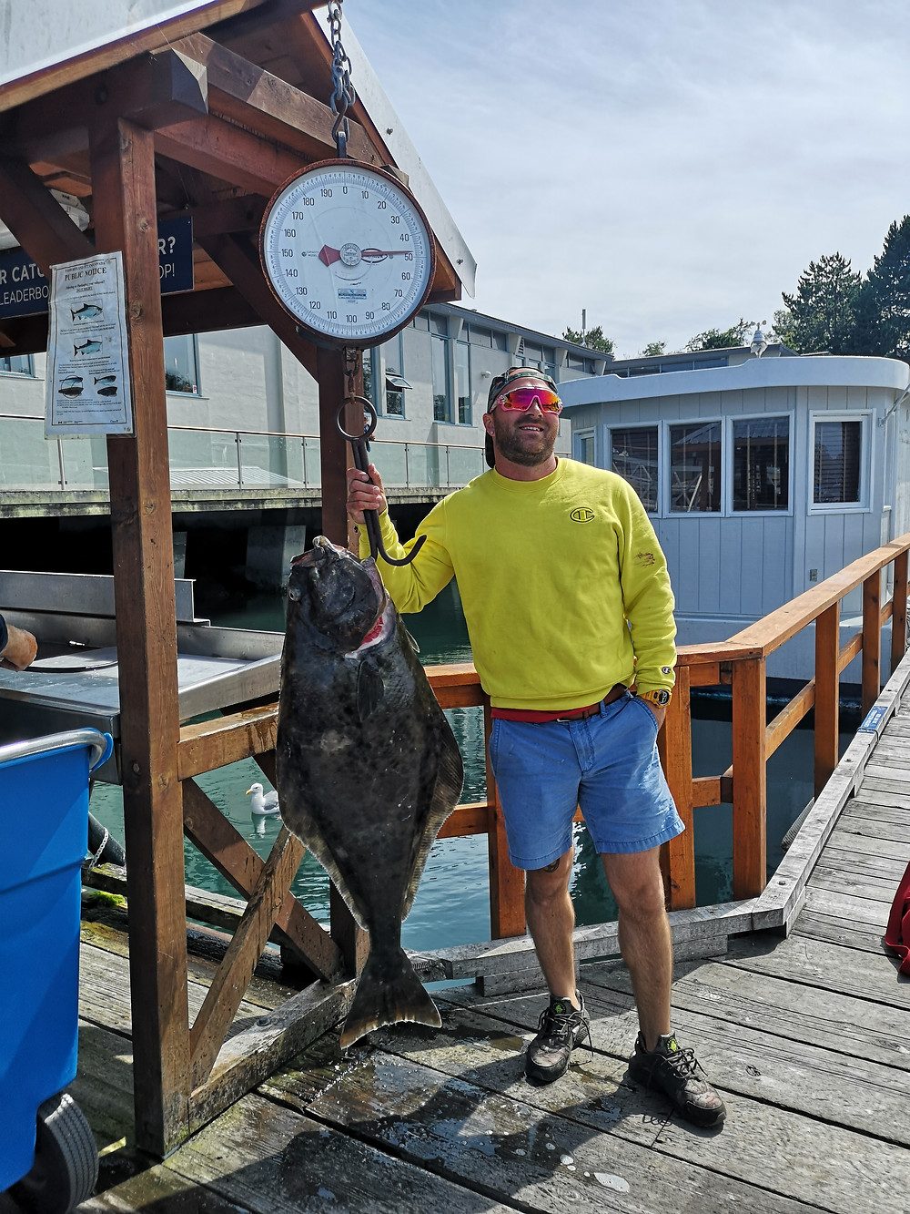 Master Sting goes fishing