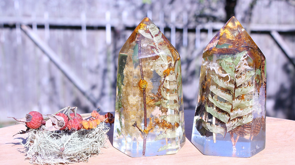 Preserved Forest Crystal