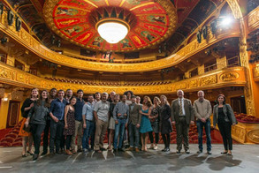 Visiting of Shakespeare's Globe Theater in the Macedonian National Theater
