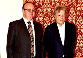 Sir Tom Stoppard in Macedonian National Theater