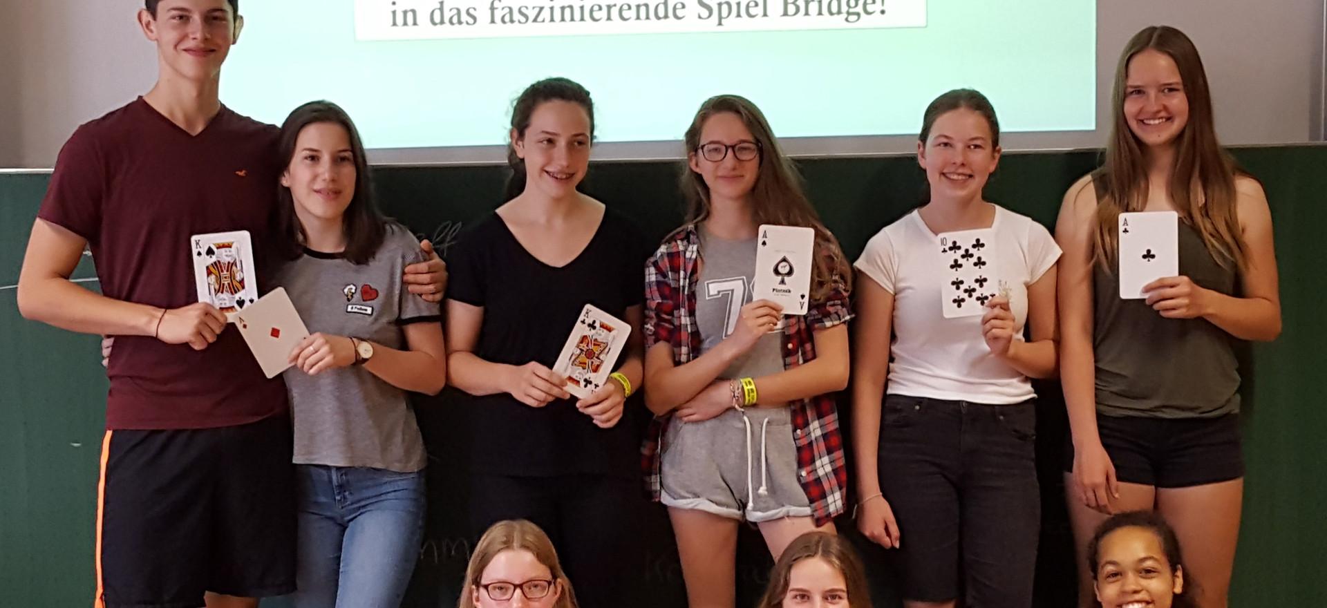 Bridgeprojekt am Kant-Gymnasium 2018