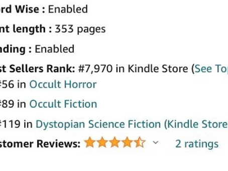 Top 50 on Amazon!