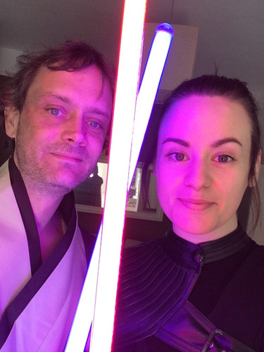 Cosplay! Dublin Comic Con - Dark Rey from Star Wars!