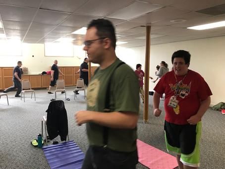 Adaptive Yogaaaaaa Class Click Here For Pics!! :)