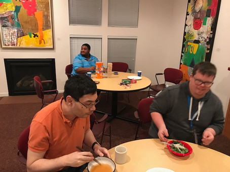 OU Cooking Club Jan 2019 Click Here for Pics!