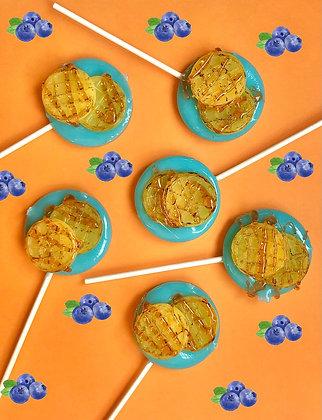 Blueberry Waffles - Set of 6