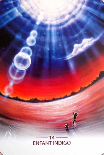 Oracle des artisans de lumière enfant indigo
