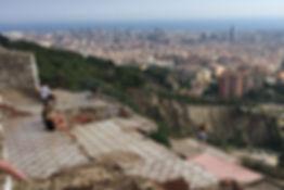 La Barcelonais - vue sur la ville - Barcelona