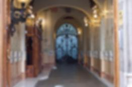 LB - Une journée dans l'Eixample - Hall moderniste