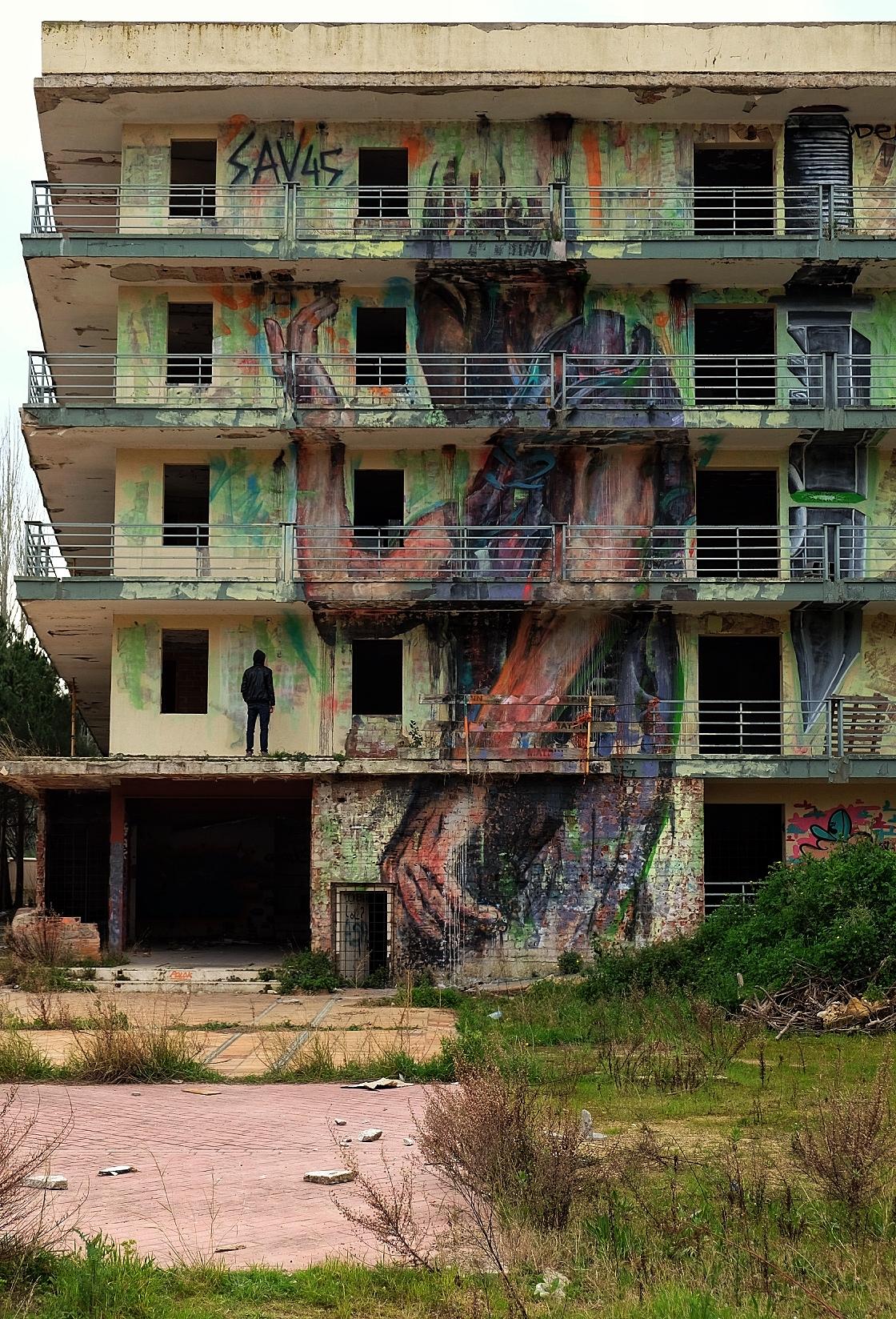 Fer Alcalá - hôtel abandonné