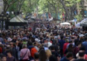 La Barcelonaise - Sant Jordi - Les ramblas