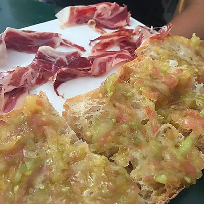 La Barcelonaise - Pan con tomate