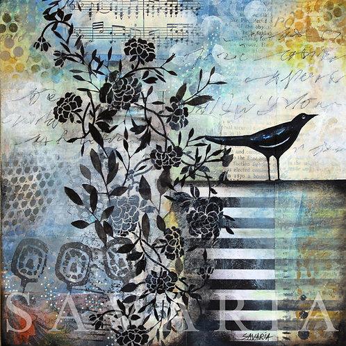 The Little Black Bird - Poésie