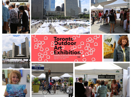 Toronto Outdoor Art Exhibition: THANK YOU!