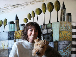Josée Savaria and Soa the Welch Terrier