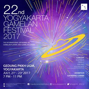 22nd Yogyakarta Gamelan Festival