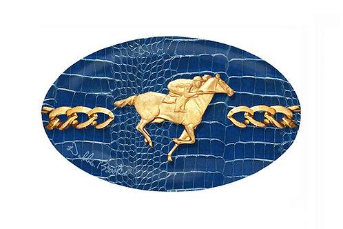 MF- Newport Python- Gold Horse Racer Chain
