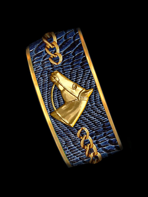 Newport Python- Gold Profile Chain- Wide