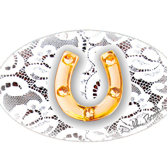 MF-Lacey Racey-Gold Horse Shoe