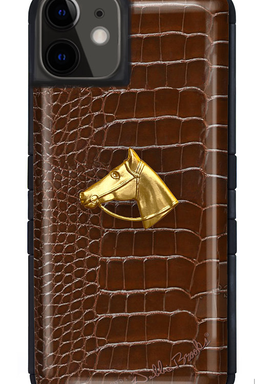 Chestnut Python Profile- iPhone 12 Tuff Case