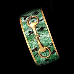 Jade Python- Gold Bit- Wide