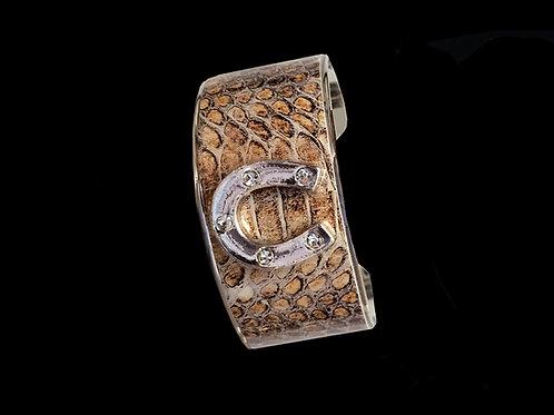 Copperhead- Silver Horseshoe- Wide