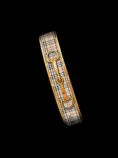 Classic Plaid- Gold Bit- Skinny