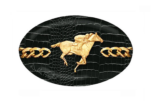 MF- Raven Python- Gold Horse Racer Chain