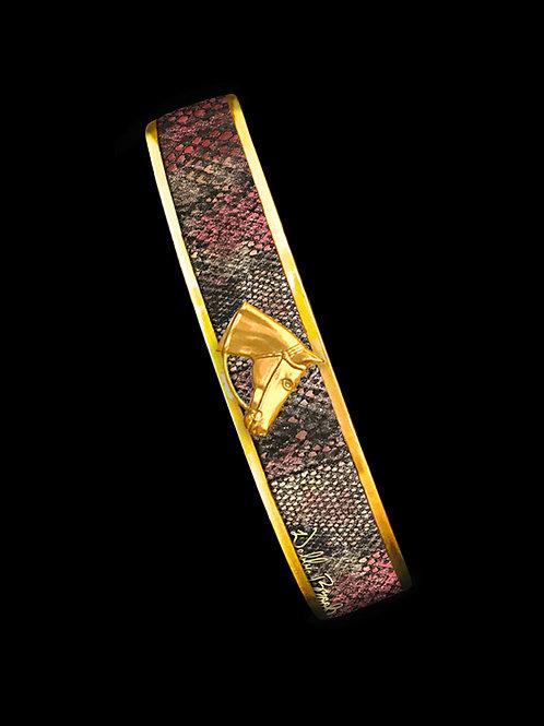 Disco Lizard Python- Gold Profile- Skinny
