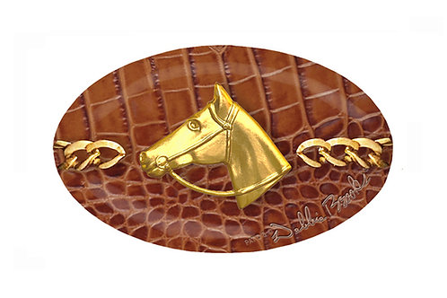 MF- Saddle Python- Gold Horse Profile Chain