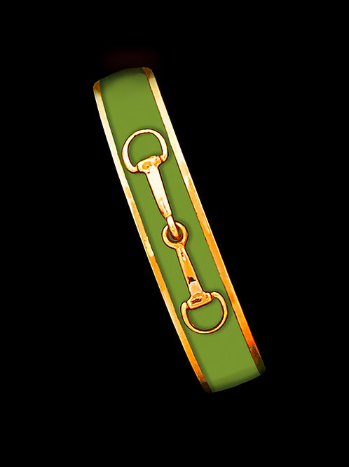 Sage- Gold Bit- Skinny