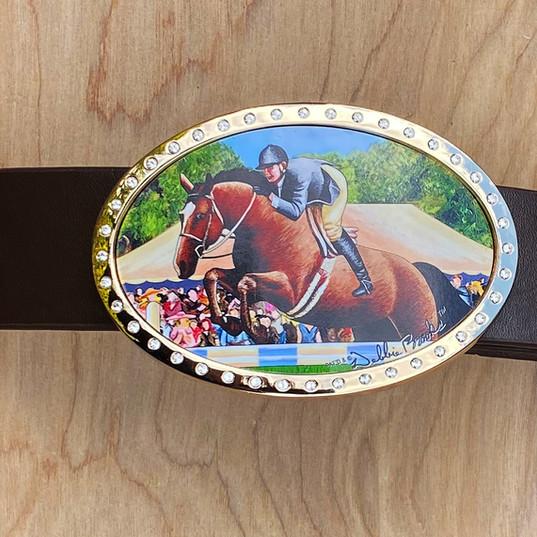 MF- Equestrian Belt Buckle