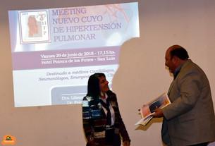 Congreso de Hipertensión Pulmonar en Potrero de los Funes