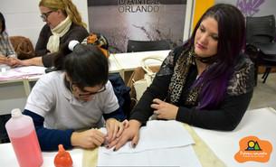 El taller de Belleza de Manos y Pies se convirtió en un espacio para trabajar, aprender y divertirse