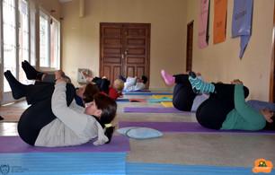 """""""Hacer yoga disminuye el estrés, aumenta la concentración y mejora el estado de ánimo"""""""