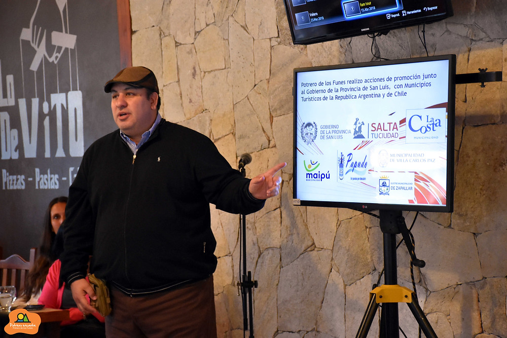 Javier Pedernera Secretario de Turismo