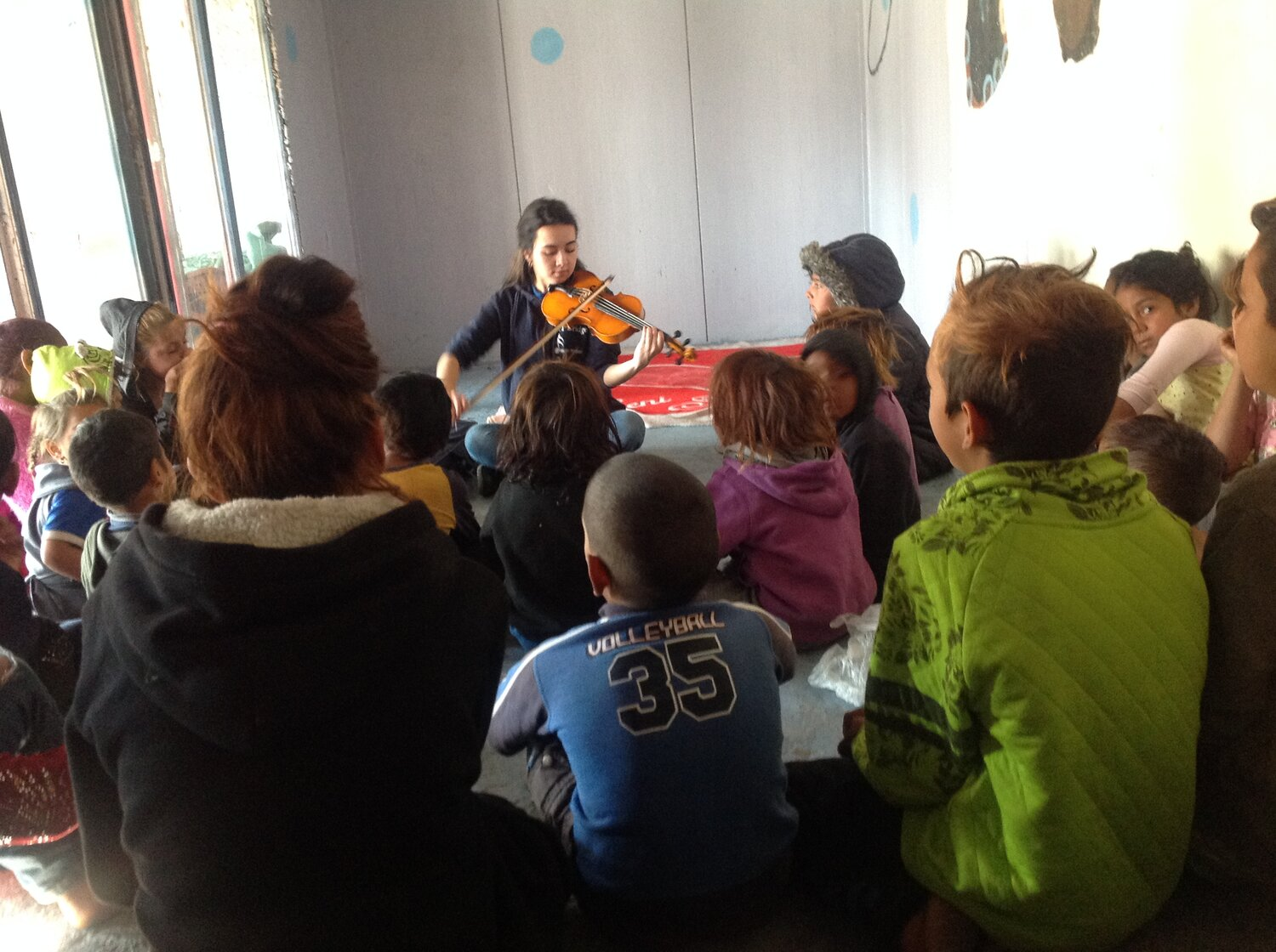 Supporting communities on Lesvos