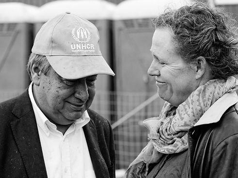 UN High Commisioner for Refugees, Antonio Guterres