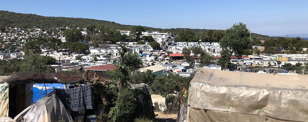 Moria camp, 2020