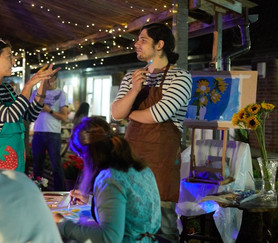 Friday 27th August: Friday Craft Club - Session 4 'Al Fresco Acrylics'