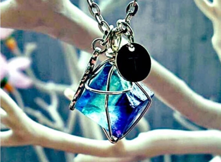 "Jewellery Making Workshop, ""Wrapped Gemstone Pendant & Key Ring"", Fri 29 Nov"