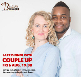Jazz Dinner with Hayley and Dessie from 'CoupleUp' - Fri 6th August 2021