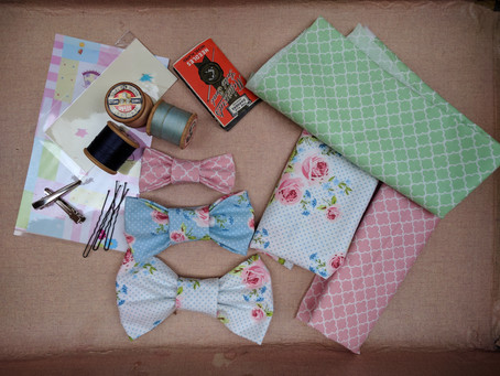 Mums' Brunch Time Club - Fabric Bow Making for Baby Accessories