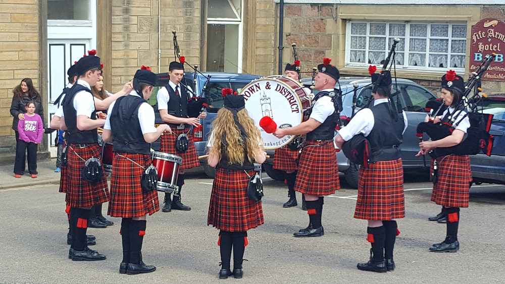The Dufftown and District Pipeband