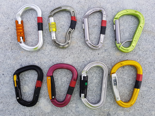 Review of Auto-Locking Karabiners - for use with Lanyards