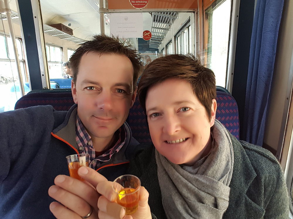 StrathIsla 12 on The Whisky Train