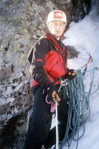 Me on Moonwalk, Ben Nevis